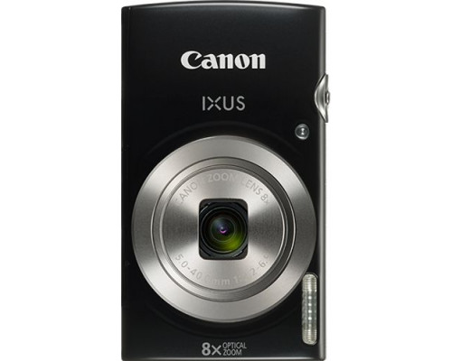 Canon IXUS 185 Black Digital Camera (1803C001AA)