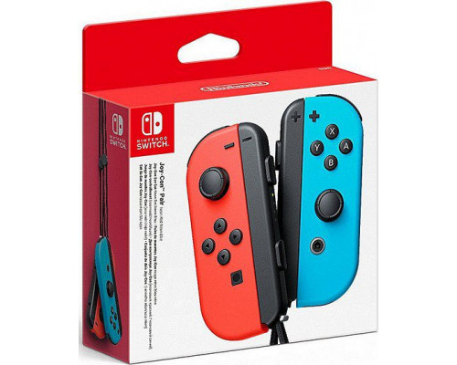 Gamepad Switch Joy-Con 2pack Neon Red / Neon Blue