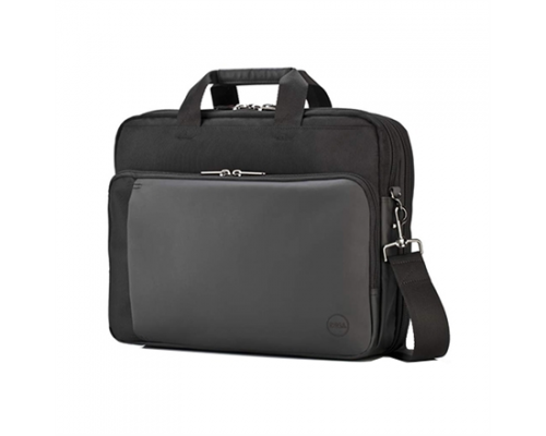 Dell 460-BBNK Fits up to size 13.3, Black/Grey, Messenger - Briefcase, Shoulder strap, Fabric/Fleece,