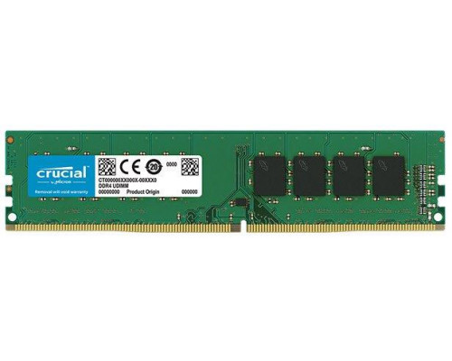 Crucial 8GB 2666MHz DDR4 CL19 Unbuffered DIMM