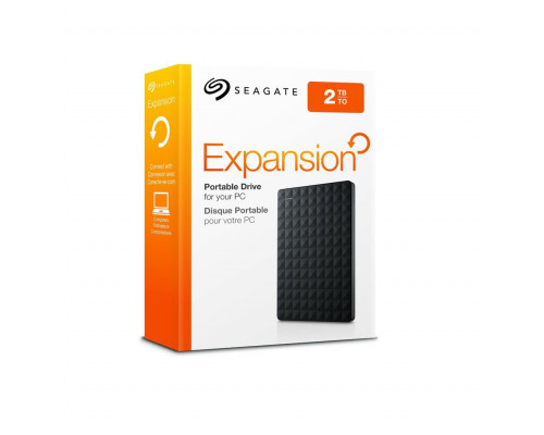 External HDD Seagate Expansion; 2,5, 2TB, USB 3.0, black