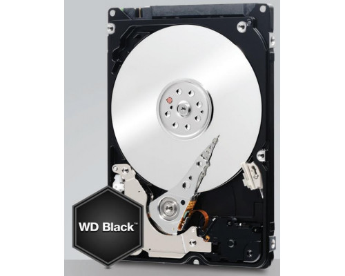 HDD WD Black, 2.5'', 250GB, SATA/600, 7200RPM, 32MB cache