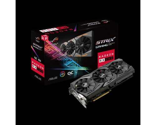 ASUS Radeon ROG Strix RX 580 Gaming, 8GB, DVI, HDMI*2, DP*2