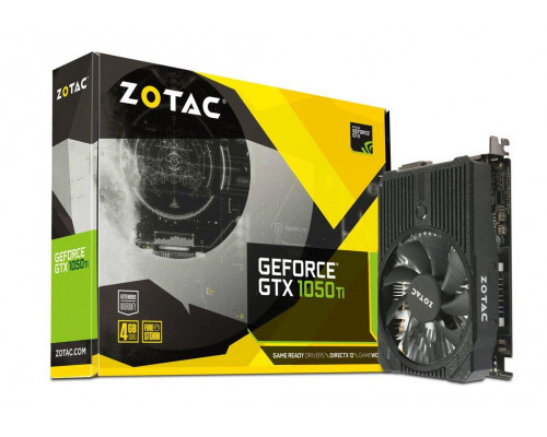 ZOTAC GeForce GTX 1050 Ti Mini 128bit 4GB GDDR5 DVI-D, HDMI, Display Port 1.4
