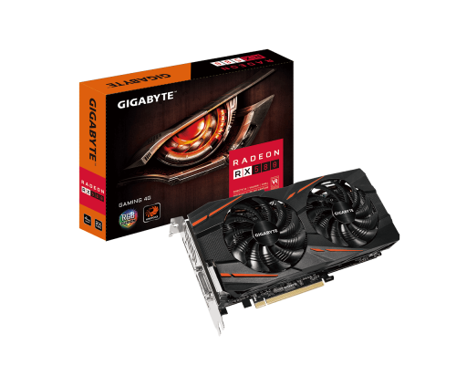 Gigabyte Radeon RX 580 Gaming 4G, 4GB, HDMI/DP/DVI