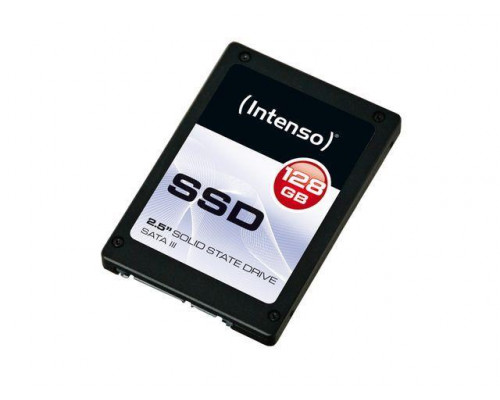 SSD Intenso Top 128GB SATA3 MLC, 520/300MBs, Shock resistant, Low power