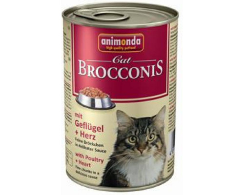ANIMONDA Brocconis poultry and hearts 5x400g