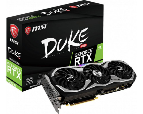 MSI RTX 2080 Ti DUKE OCV1 11GB GDDR6 (GeForce RTX 2080 Ti DUKE 11G OCV1)