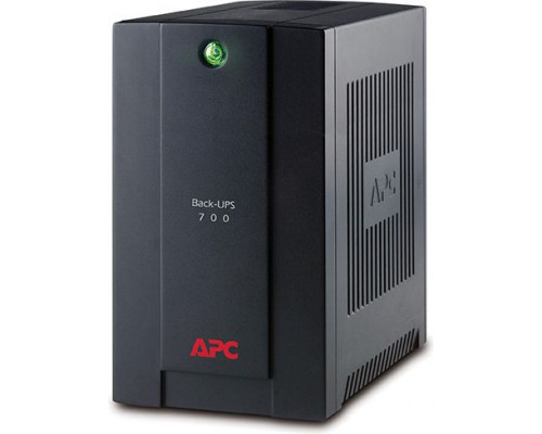 APC Back-UPS 700VA, 230V, AVR, French Sockets (BX700U-FR)