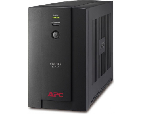 APC BACK-UPS 950VA, 230V, AVR, French Sockets (BX950U-FR)