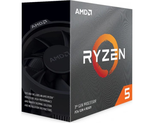 AMD Ryzen 5 3600, 6C/12T, 4.2 GHz, 36 MB, AM4, 65W, 7nm, BOX