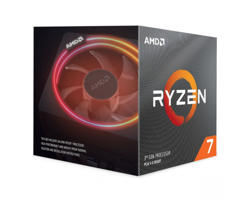 AMD Ryzen 7 3700X, 8C/16T, 4.4 GHz, 36 MB, AM4, 65W, 7nm, BOX