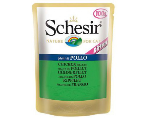 Agras Delic SCHESIR CAT 5x100g sash KITTEN CHICKEN