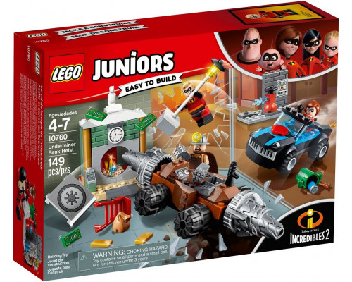 LEGO Blocks Juniors The Incredibles 2 Attack of the Man Banks Spade