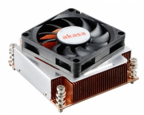Akasa AK-CC6502BT01 2U CPU Cooler for LGA 2011-70 mm