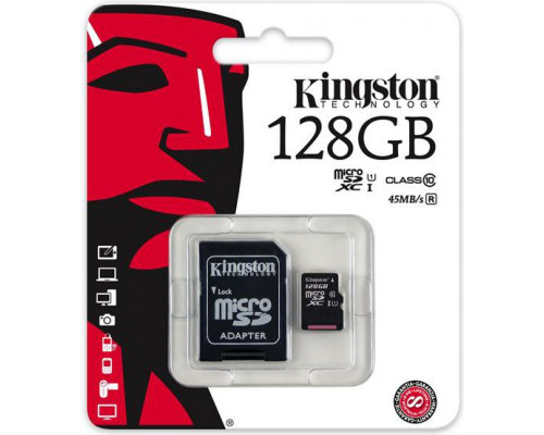 Kingston 128GB (SDC10G2/128GB)