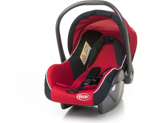 4BABY Colby XVIII 0-13 kg Red (3264)