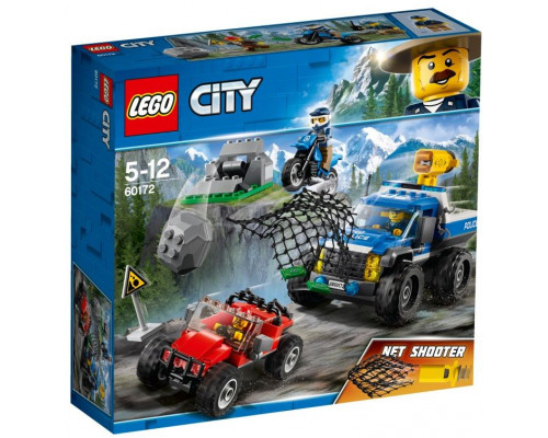LEGO CITY Chase the mountain route