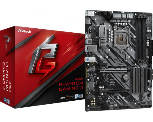 ASRock Z490 PHANTOM GAMING 4 (90-MXBC60-A0UAYZ)