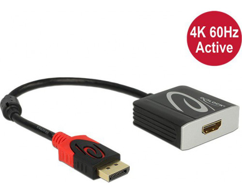 Delock DisplayPort - HDMI 0.2m  (62734)