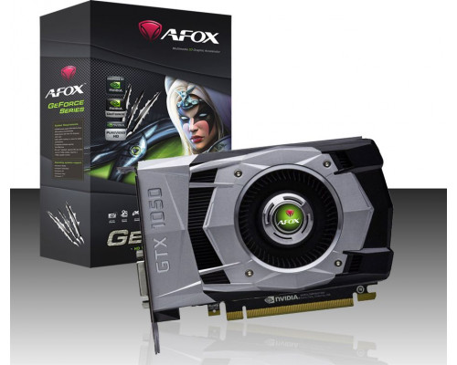 AFOX GeForce GTX 1050Ti Dual Fan H2 4GB GDDR5 (AF1050TI-4096D5H2)