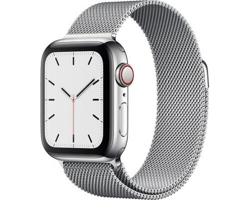 Apple Watch 5 GPS + Cellular 44mm Stainless Steel Silver (MWWG2WB / A) smartwatch