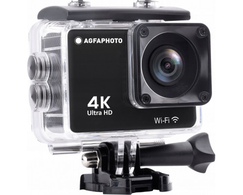 AgfaPhoto Sports Camera 4k 20MP Wifi + Accessories