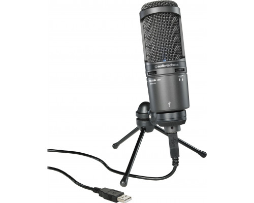 Audio-Technica microphone (AT2020 USB) + Capacitor Microphone (AT2020 USB +)