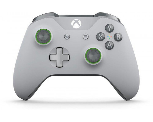 Xbox ONE S Wireless Controller - Grey/Green