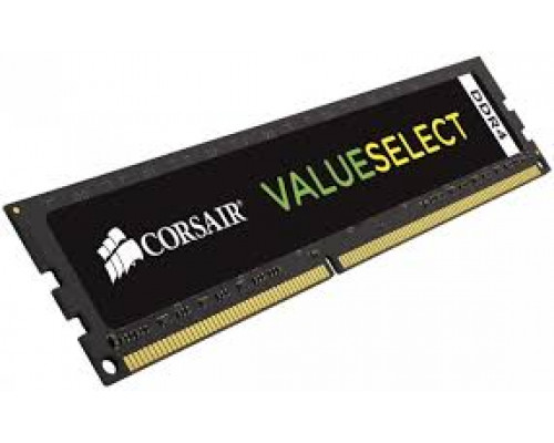 Corsair ValueSelect DDR4, 2400MHZ 4GB DIMM 1.20V, Unbuffered,