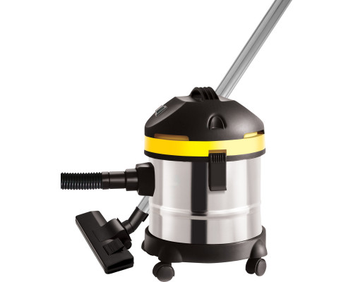 Adler Vacuum cleaner which can collect water AD 7022 Bagless, Silver/Black/Yellow, 1500 W