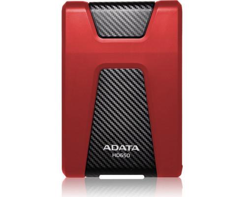 ADATA DashDrive Durable HD650 2TB Czerwony (AHD650-2TU31-CRD)