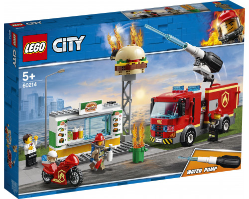 LEGO CITY To the rescue in a burning bar (60214)