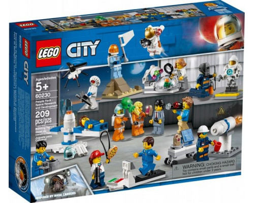 LEGO CITY NASA Space research - a set of minifigures (60230)
