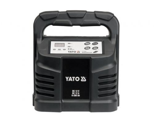 Yato  12V 12A 6-200Ah (YT-8302)