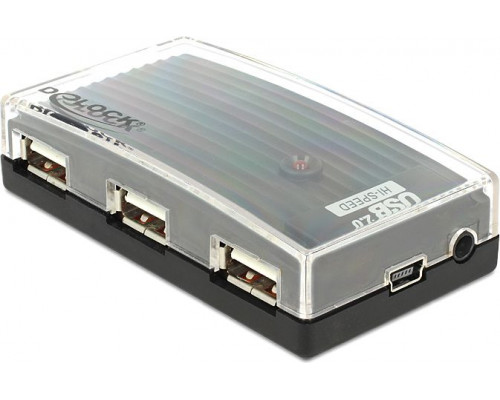 HUB USB Delock  hub 4  USB 2.0 (61393)
