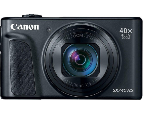 Canon Canon PowerShot SX740 HS Digital Camera Black