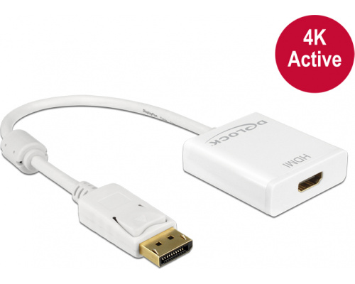 Delock DisplayPort - HDMI 0.2m (62608)
