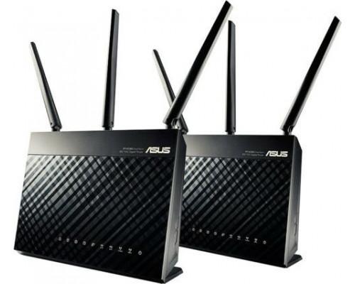 Asus AiMesh AC1900 Router (RT-AC67U 2PACK)