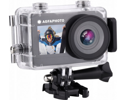 AgfaPhoto Sports Camera 2.7k 16MP Wifi 2x Lcd Accessories