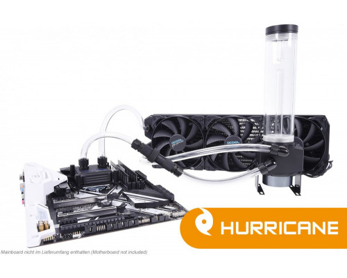 Alphacool Water Cooling Set Ice Storm Hurricane Copper 45 3x140mm (1014161)