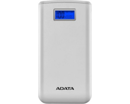 ADATA 20000mAh 2.1A Power Bank white (AS20000D-DGT-CWH)