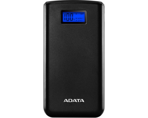 ADATA 20000mAh Black 2.1A Power Bank (AS20000D-DGT-CBK)