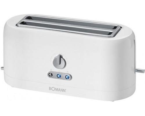 Bomann TA 245 CB Toaster - white