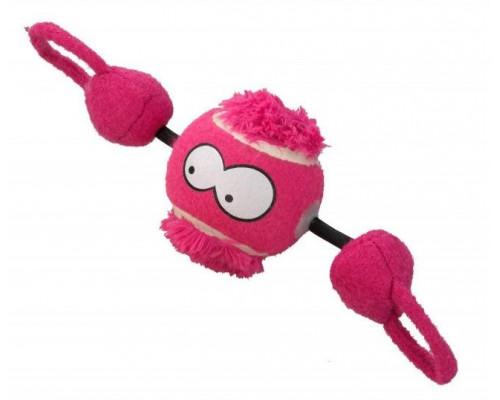 Suņu rotaļlieta EBI Coockoo Toy Ball Shoot Pink 7.8cm