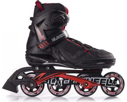Blackwheels Skates Race black / red s.45